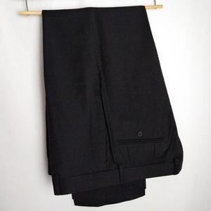 Calvin Klein 34x30 Solid Wool Slim Fit Dress Pant